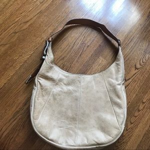 Frye Light Tan Leather Shoulder Bag